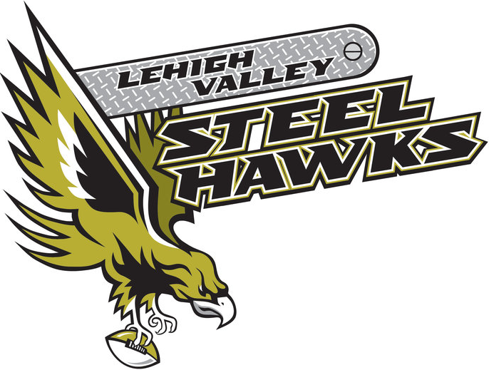 Lehigh Valley Steelhawks Logo Primary Logo (2013-2015) -  SportsLogos.Net
