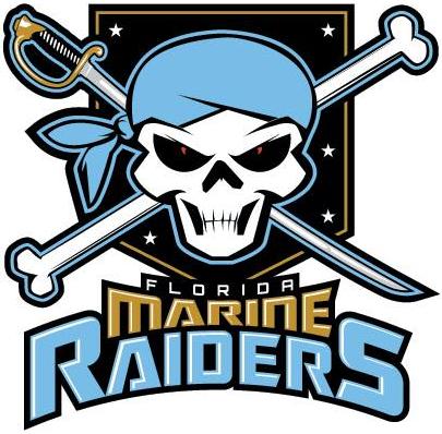 Florida Marine  Raiders Logo Primary Logo (2014-Pres) -  SportsLogos.Net
