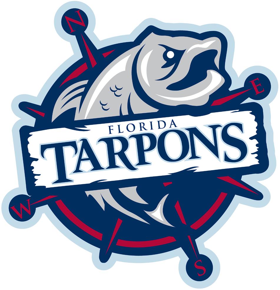 Florida Tarpons Logo Primary Logo (2015-Pres) -  SportsLogos.Net