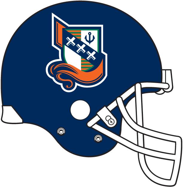 Amsterdam Admirals Helmet Helmet (1998-2007) -  SportsLogos.Net