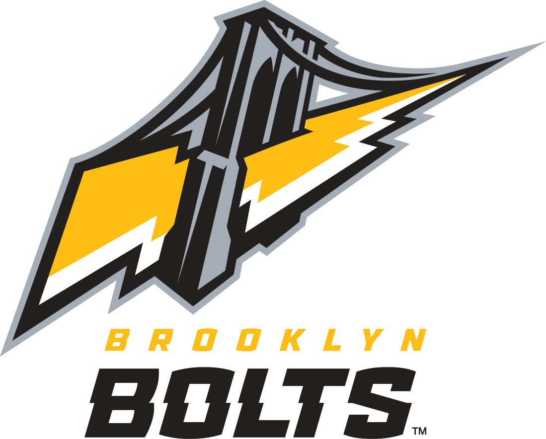 Brooklyn Bolts Logo Primary Logo (2014-Pres) -  SportsLogos.Net