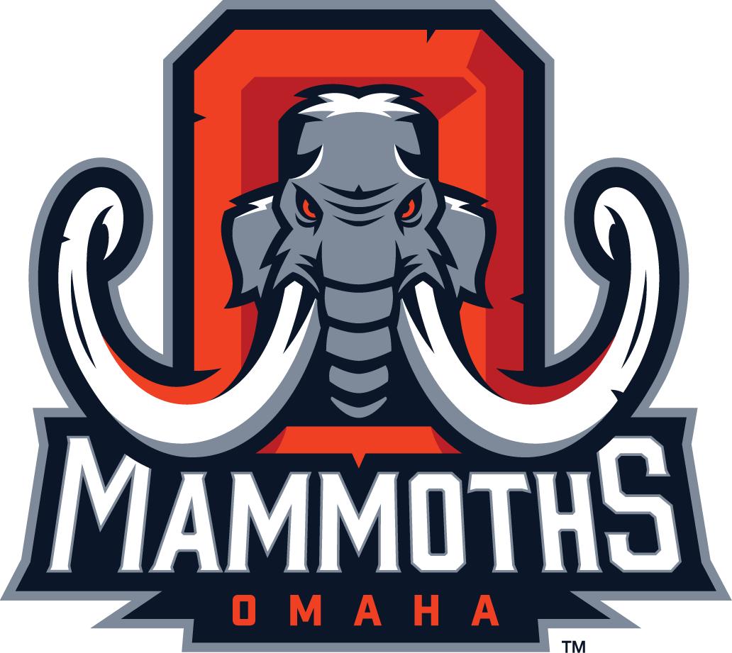 Omaha Mammoths Logo Primary Logo (2014) -  SportsLogos.Net