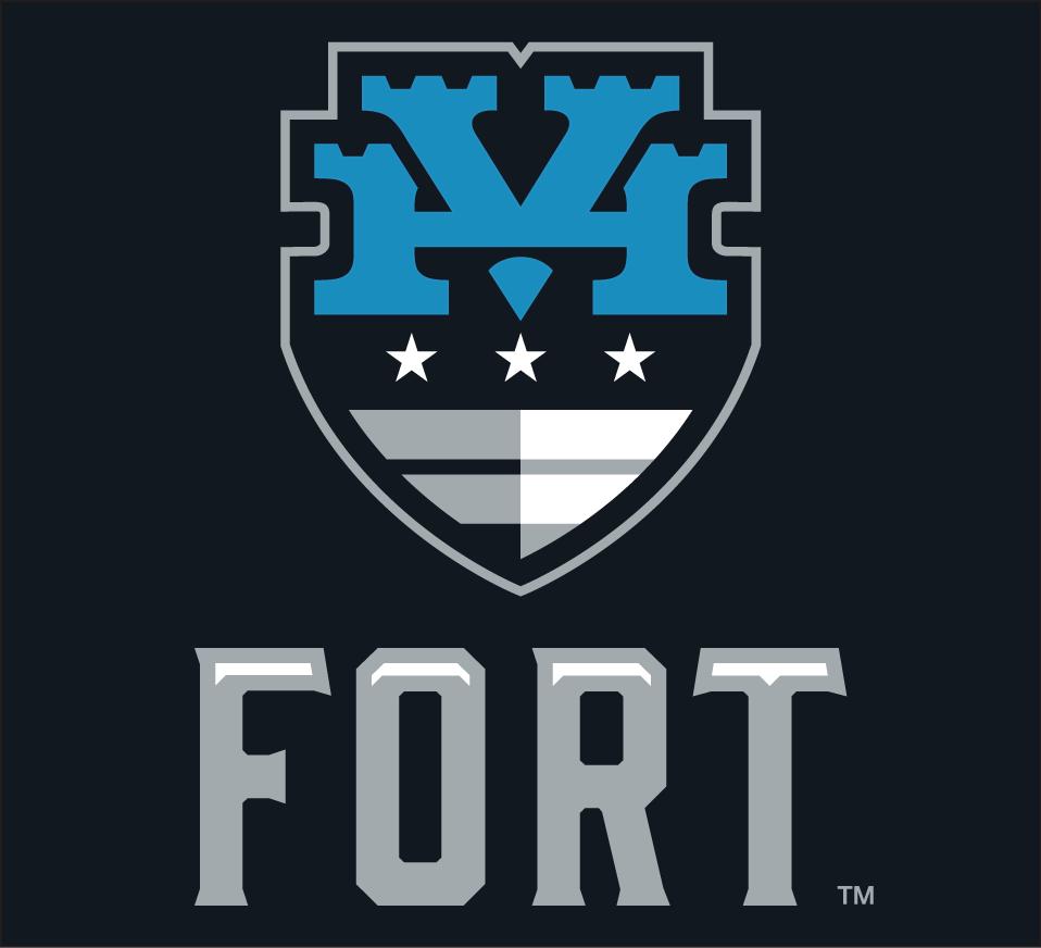 Hudson Valley Fort Logo Alternate Logo (2015-Pres) -  SportsLogos.Net