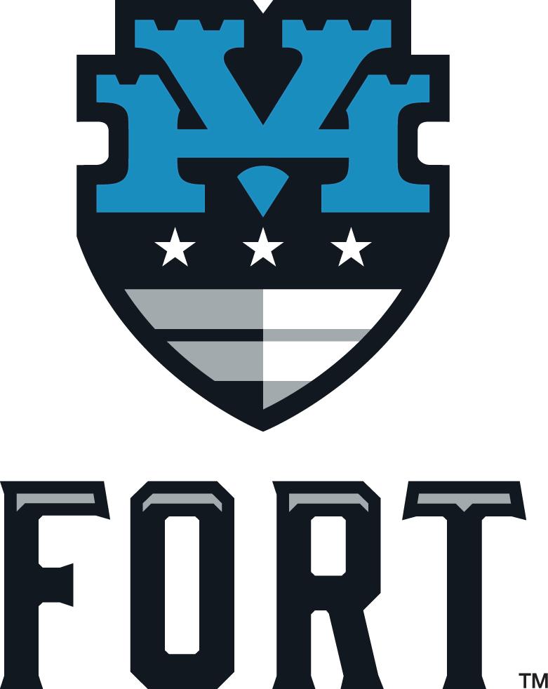 Hudson Valley Fort Logo Primary Logo (2015-Pres) -  SportsLogos.Net