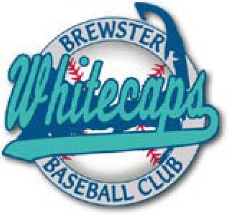 Brewster Whitecaps Logo Primary Logo (2000-2010) -  SportsLogos.Net