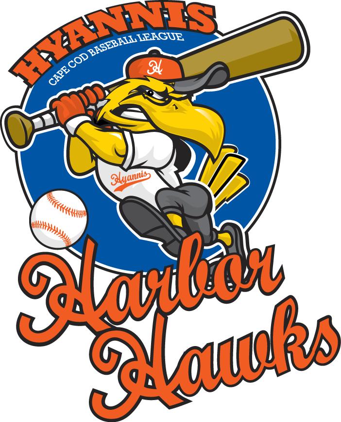 Hyannis Harbor Hawks Logo Primary Logo (2010-Pres) -  SportsLogos.Net