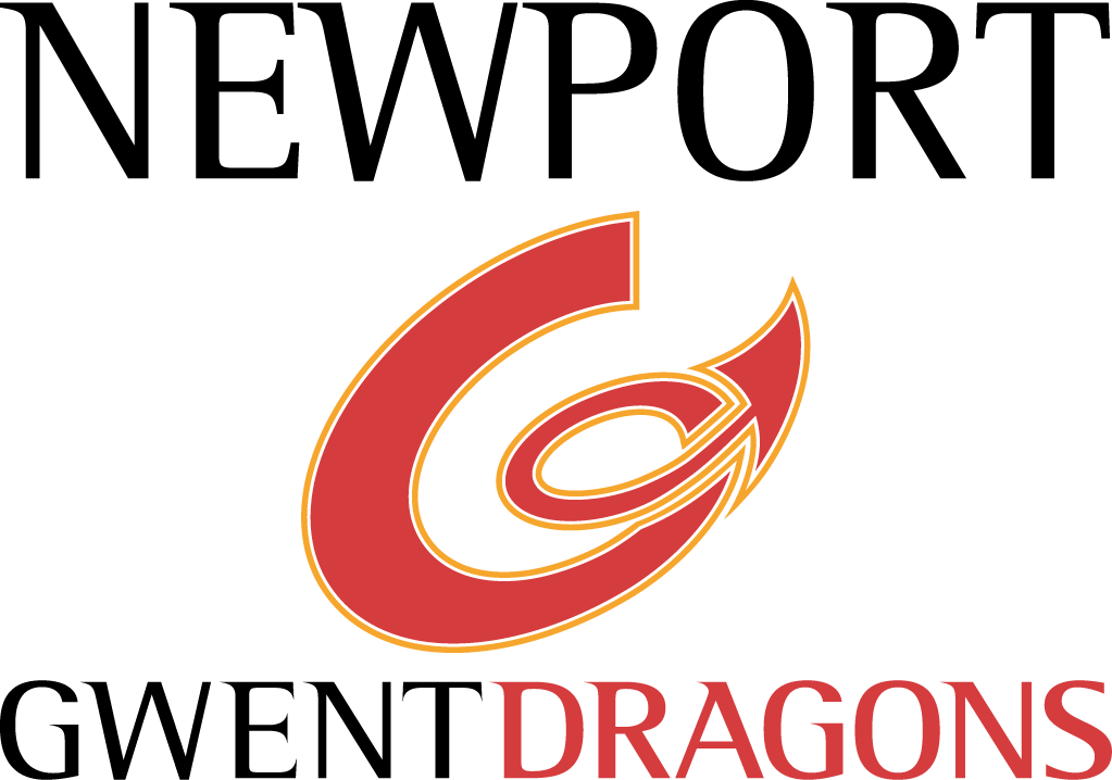 Newport Gwent  Dragons Logo Primary Logo (2003/04-Pres) -  SportsLogos.Net