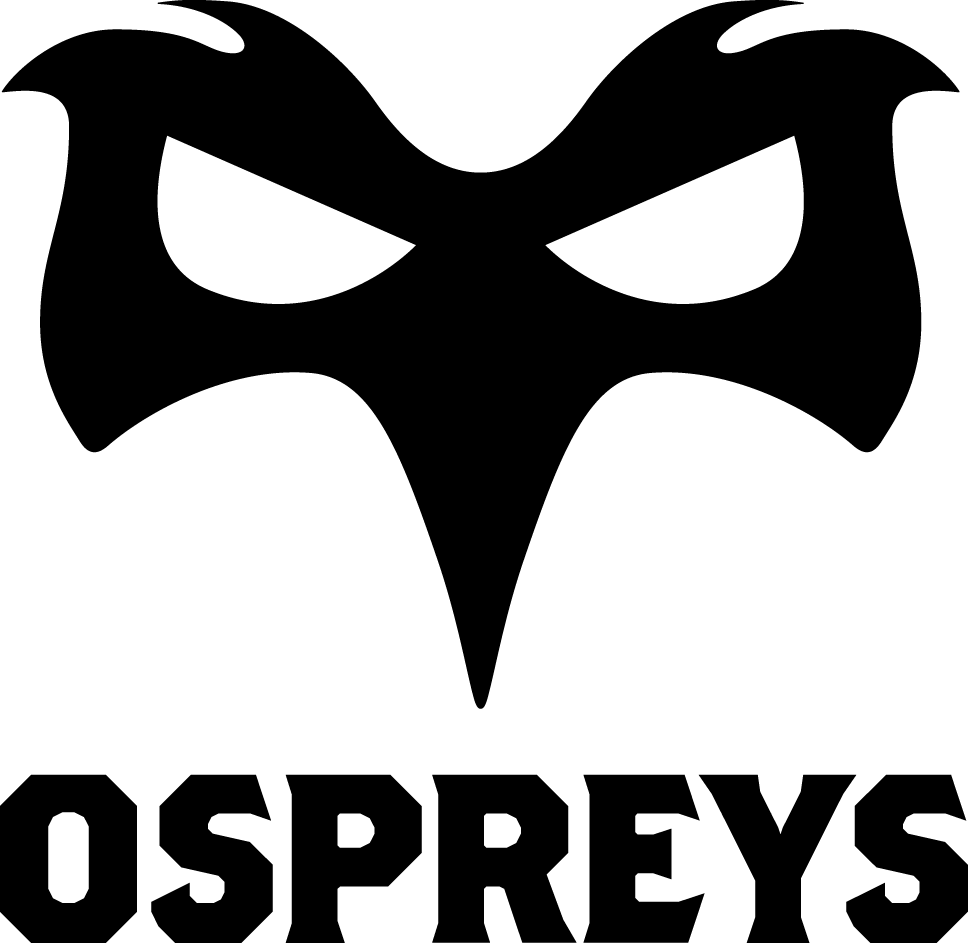 Ospreys  Logo Primary Logo (2009/10-Pres) -  SportsLogos.Net