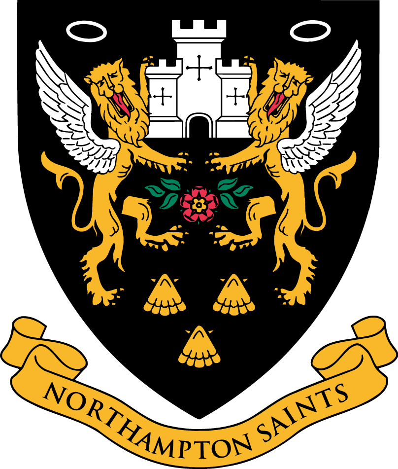 Northampton Saints Logo Primary Logo (1999/00-Pres) -  SportsLogos.Net