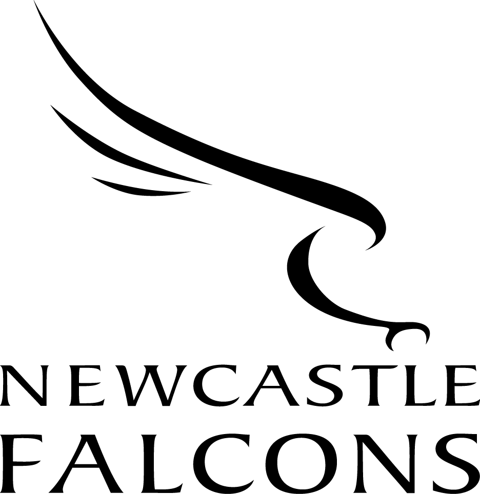 Newcastle Falcons Logo Primary Logo (1999/00-Pres) -  SportsLogos.Net