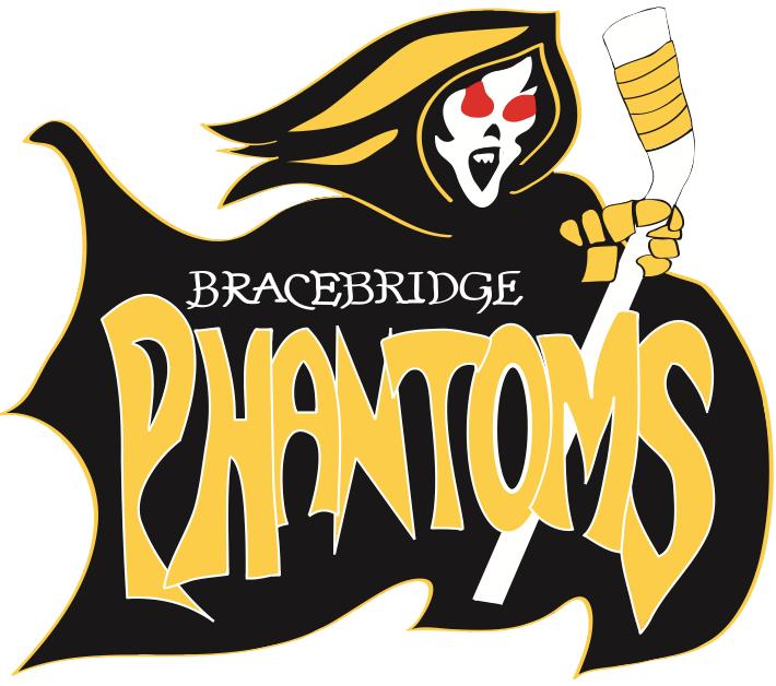 Bracebridge Phantoms Logo Primary Logo (2012/13-2013/14) -  SportsLogos.Net