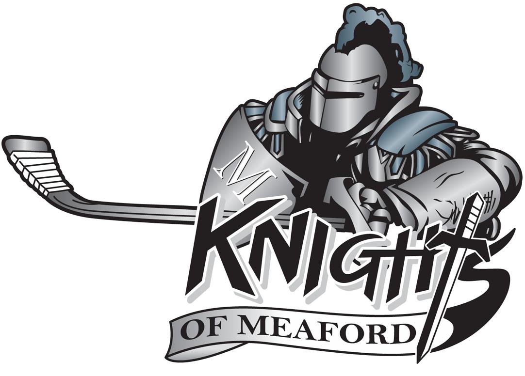 Knights of Meaford Logo Primary Logo (2013/14-Pres) -  SportsLogos.Net