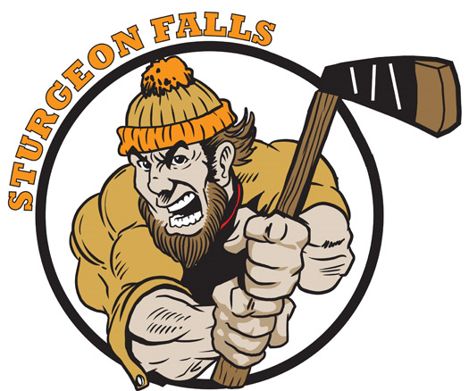 Sturgeon Falls Lumberjacks Logo Primary Logo (2010/11-Pres) -  SportsLogos.Net