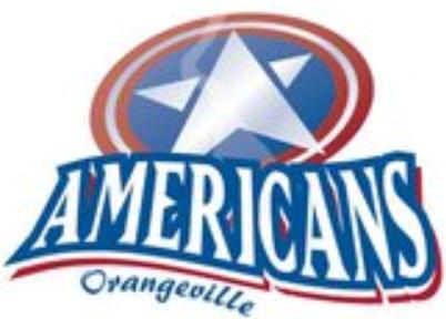 Orangeville Americans Logo Primary Logo (2011/12-2014/15) -  SportsLogos.Net
