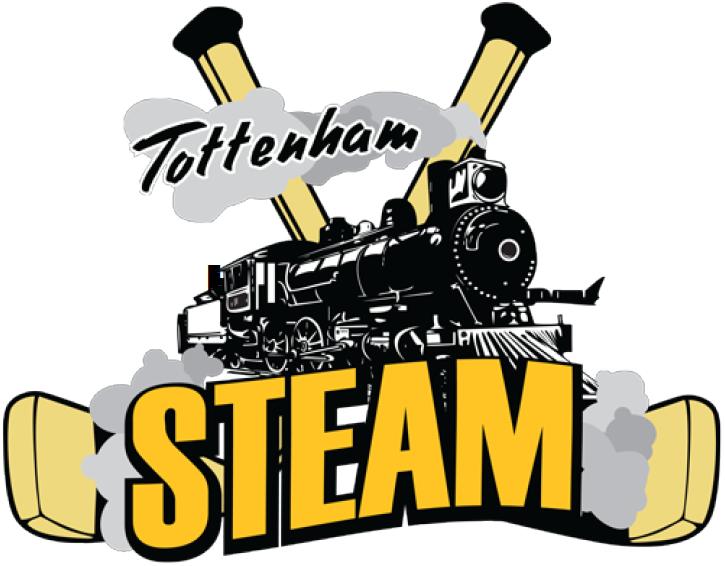 Tottenham Steam Logo Primary Logo (2014/15-Pres) -  SportsLogos.Net