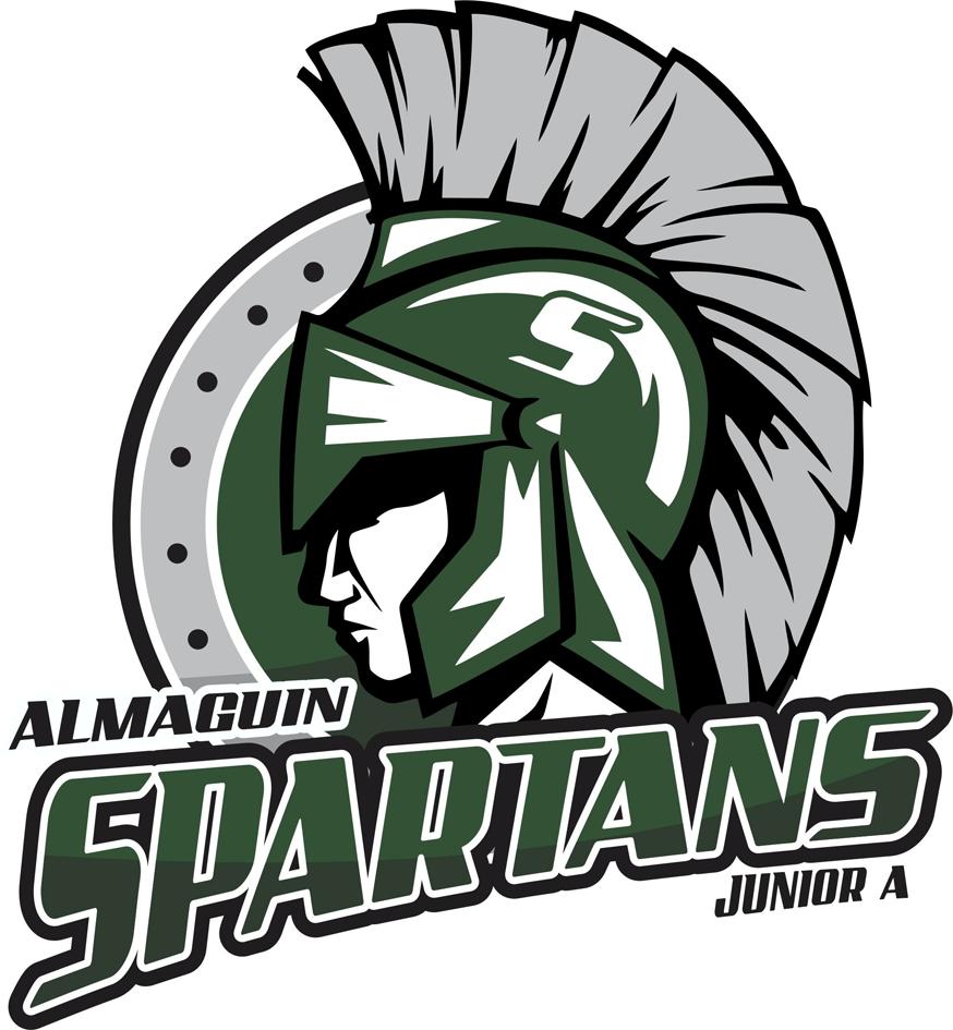 Almaguin Spartans Logo Primary Logo (2011/12-Pres) -  SportsLogos.Net