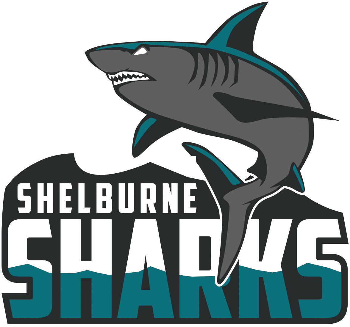 Shelburne Sharks Logo Primary Logo (2015/16-Pres) -  SportsLogos.Net