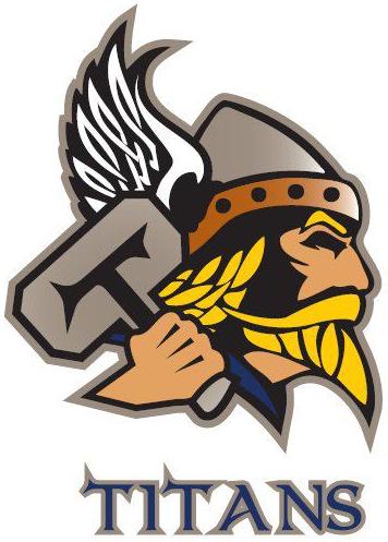 Temiscaming Titans Logo Primary Logo (2011/12-Pres) -  SportsLogos.Net
