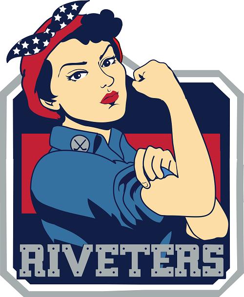 New York Riveters Logo Primary Logo (2015/16-2016/17) -  SportsLogos.Net