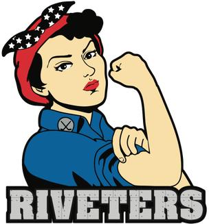 Metropolitan Riveters Logo Primary Logo (2017/18-Pres) -  SportsLogos.Net