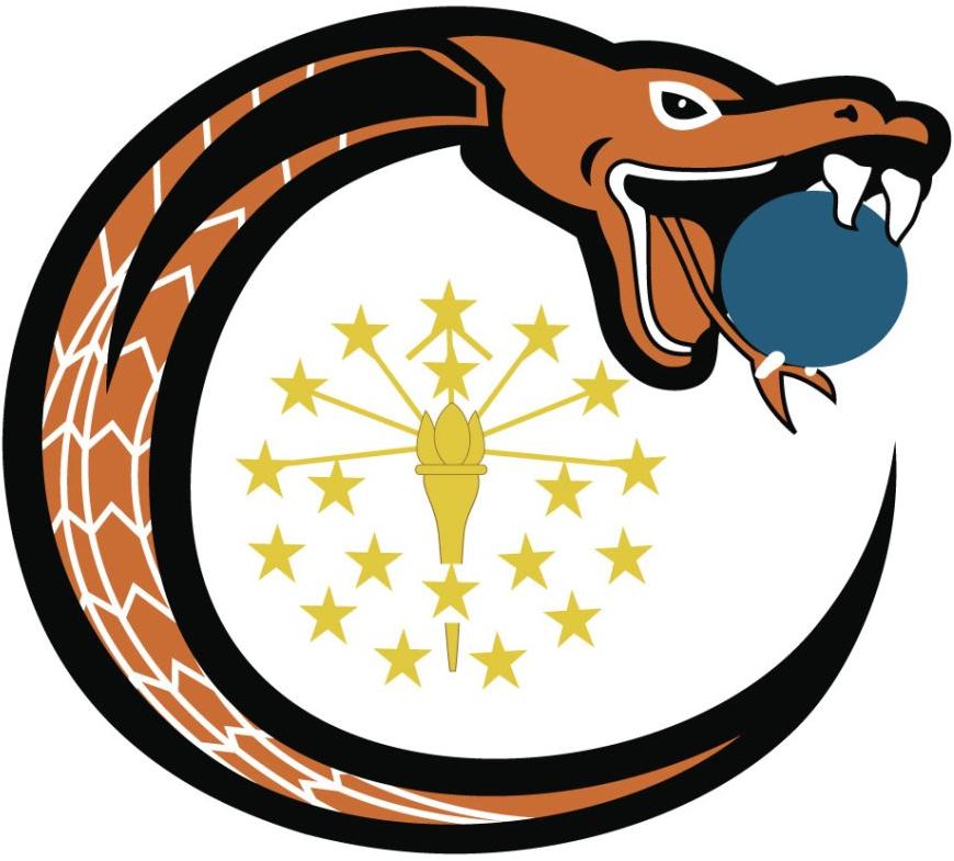 Indianapolis  Copperheads Logo Primary Logo (2015-Pres) -  SportsLogos.Net