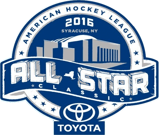 AHL All-Star Classic Logo Primary Logo (2015/16) - 2016 AHL All-Star Game logo - game played in Syracuse, NY SportsLogos.Net