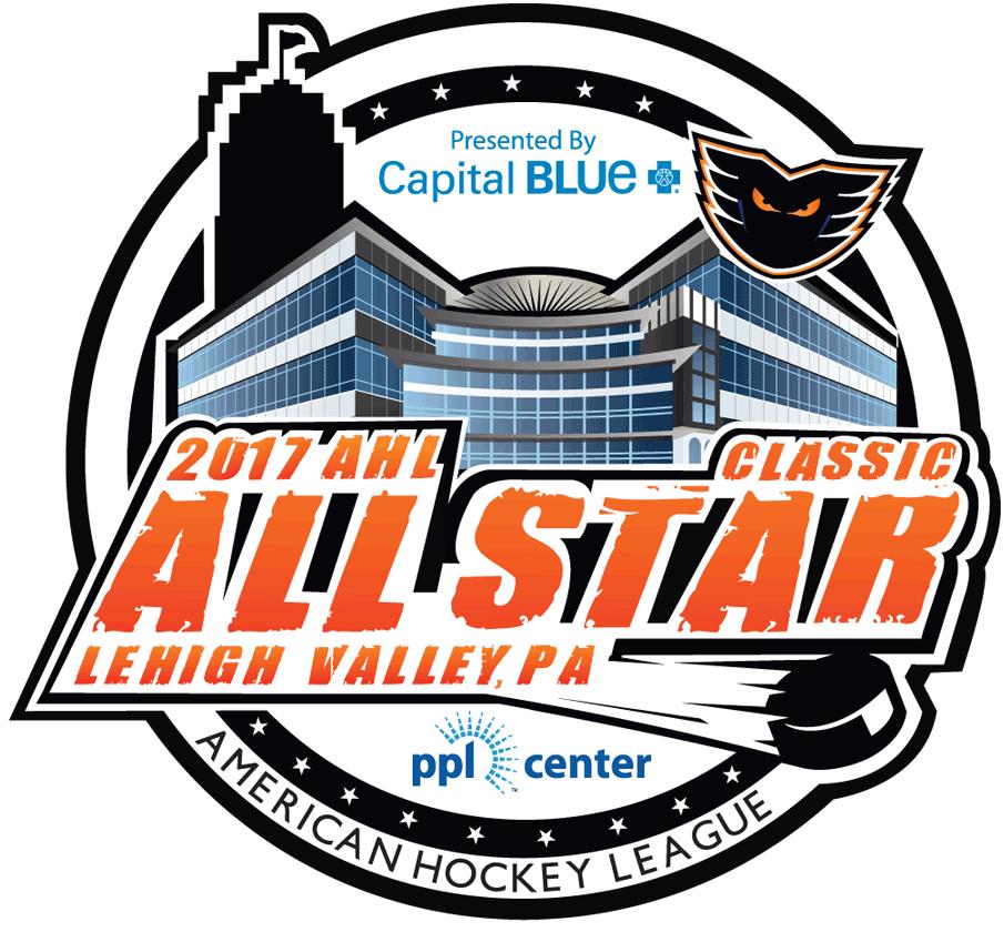 AHL All-Star Classic Logo Primary Logo (2016/17) - 2017 AHL All-Star Classic Logo, game played in Allentown, PA hosted by Lehigh Valley Phantoms SportsLogos.Net