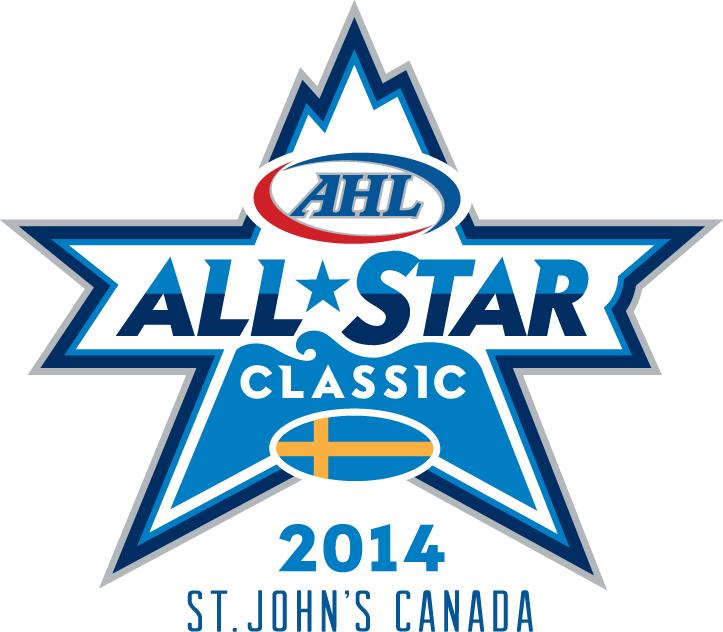 AHL All-Star Classic Logo Primary Logo (2013/14) - 2014 AHL All-Star Classic - hosted by St John's IceCaps - February 11-12 2014 - AHL All-Stars VS Farjestad BK (of the Swedish Elite League) SportsLogos.Net