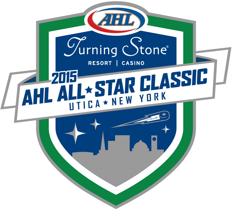 AHL All-Star Classic Logo Primary Logo (2014/15) - 2015 AHL All-Star Classic - Utica, NY SportsLogos.Net