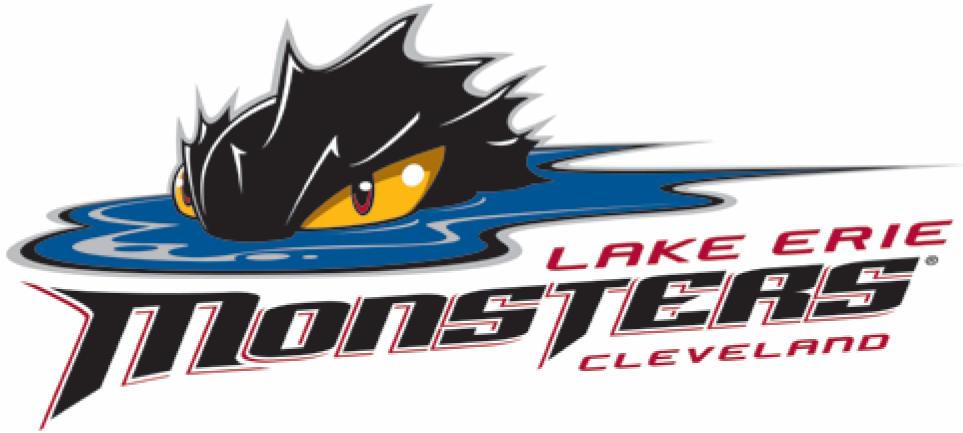 Lake Erie Monsters Logo Primary Logo (2012/13-2015/16) -  SportsLogos.Net