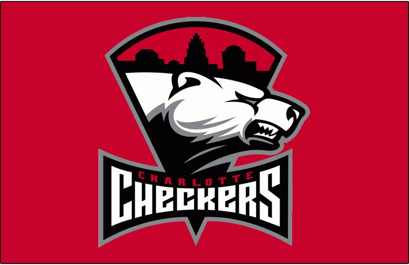 Charlotte Checkers Logo Jersey Logo (2010/11-Pres) - Road jersey crest SportsLogos.Net