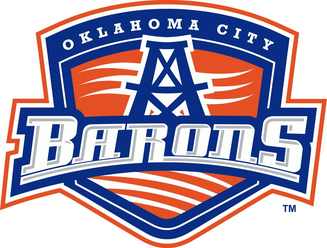 Oklahoma City Barons Logo Primary Logo (2014/15) -  SportsLogos.Net