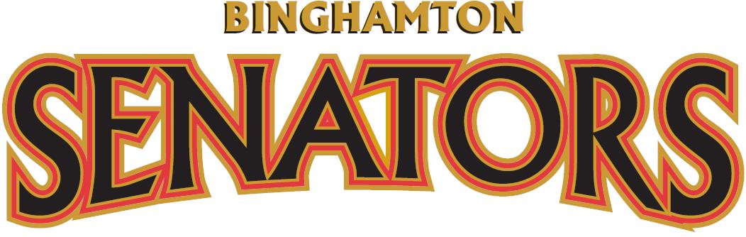 Binghamton Senators Logo Wordmark Logo (2002/03-2016/17) -  SportsLogos.Net