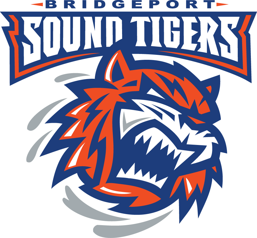 Bridgeport Sound Tigers Logo Primary Logo (2010/11-Pres) -  SportsLogos.Net