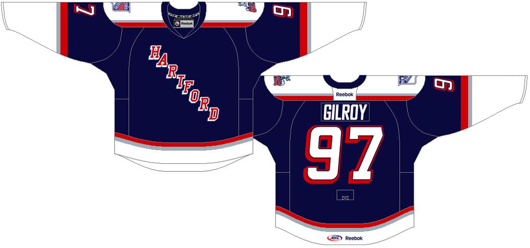 Hartford Wolf Pack Uniform Road Uniform (2013/14-Pres) -  SportsLogos.Net