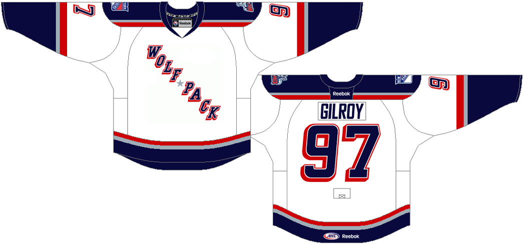 Hartford Wolf Pack Uniform Home Uniform (2013/14-Pres) -  SportsLogos.Net