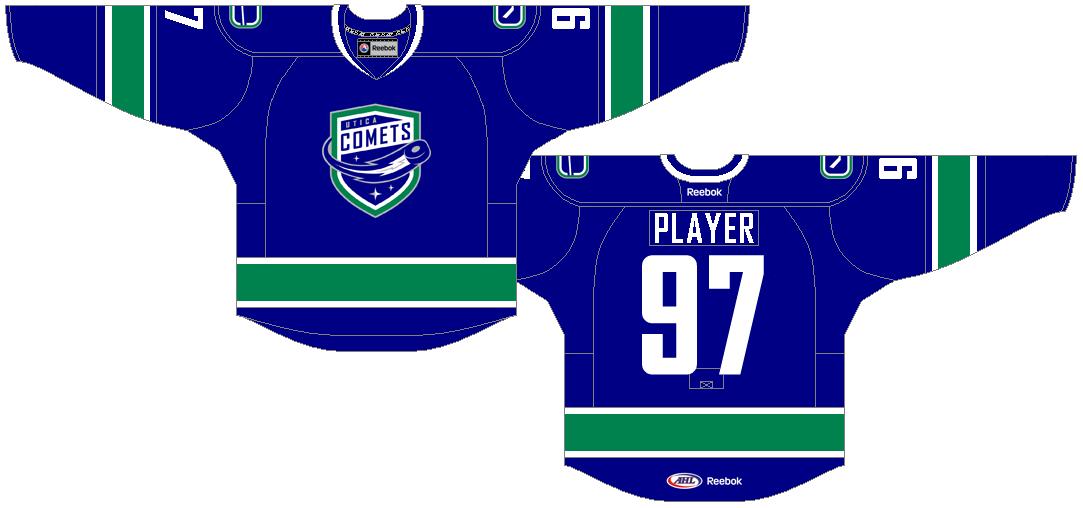 Utica Comets Uniform Road Uniform (2013/14-2020/21) -  SportsLogos.Net
