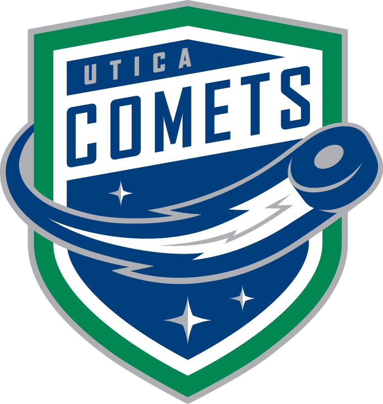 Utica  Comets Logo Primary Logo (2013/14-Pres) -  SportsLogos.Net