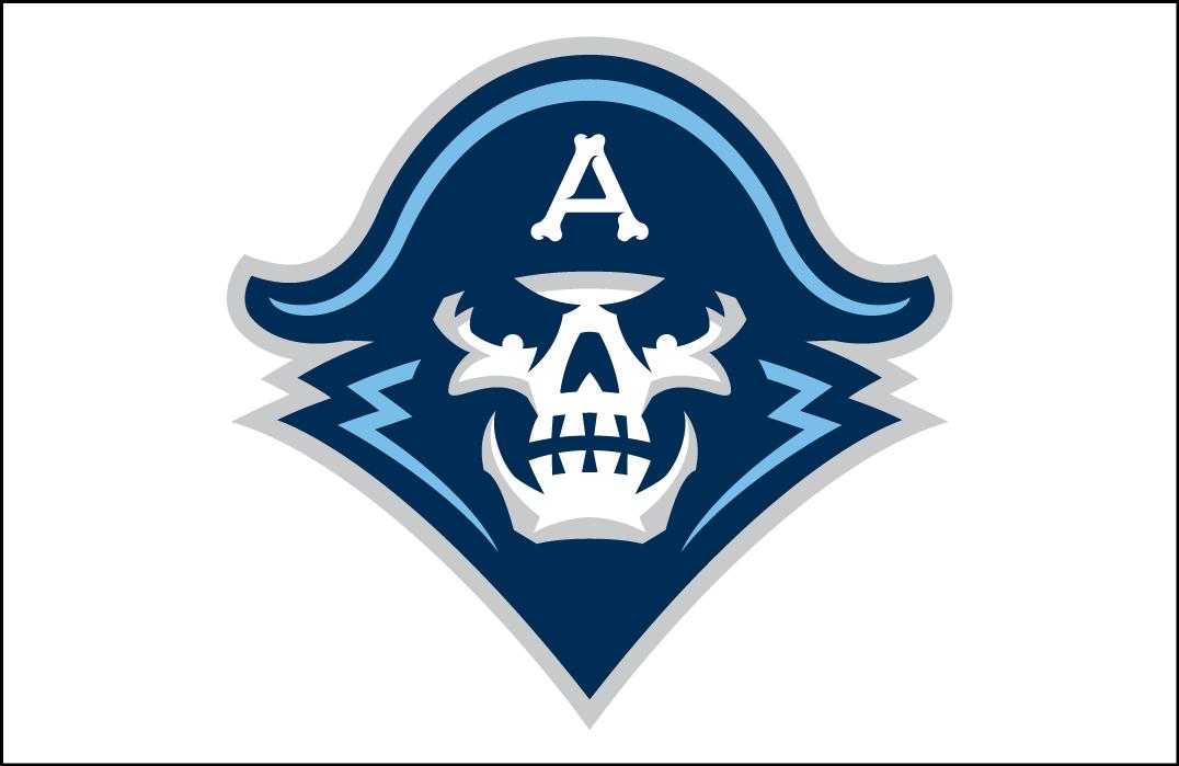Milwaukee Admirals Logo Jersey Logo (2015/16-Pres) - Skull head on white, worn on Admirals home jersey SportsLogos.Net