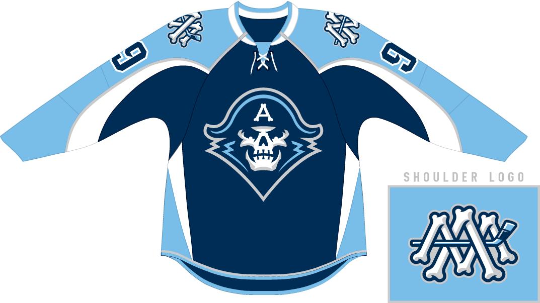 Milwaukee Admirals Uniform Road Uniform (2015/16-Pres) -  SportsLogos.Net