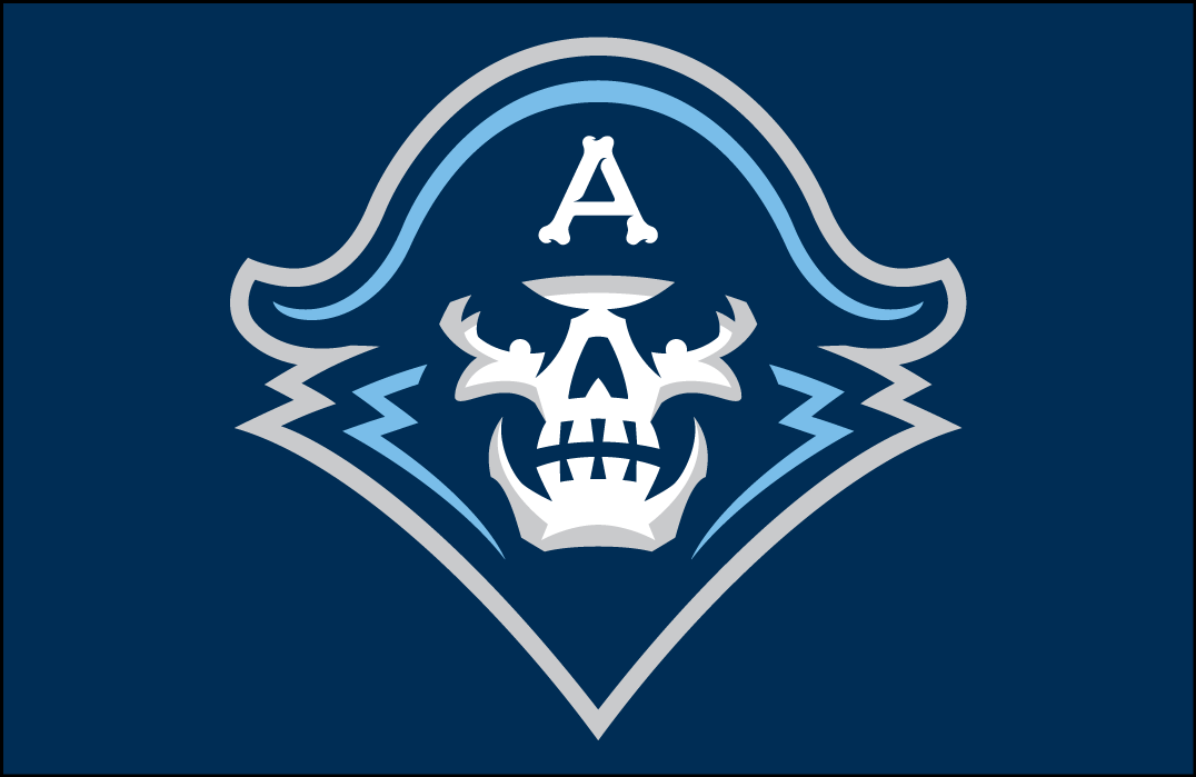 Milwaukee Admirals Logo Jersey Logo (2015/16-Pres) - Skull head on navy blue, worn on Admirals road jersey SportsLogos.Net
