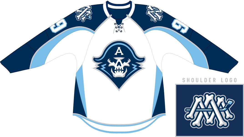 Milwaukee Admirals Uniform Home Uniform (2015/16-Pres) -  SportsLogos.Net