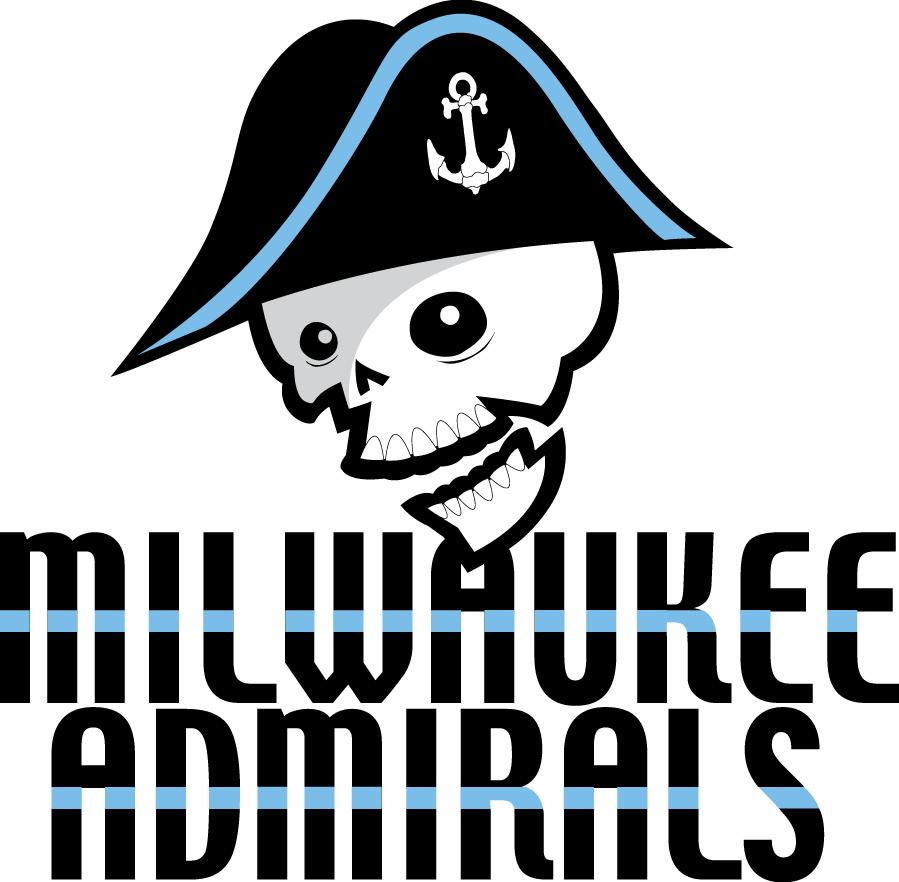 Milwaukee Admirals Logo Primary Logo (2006/07-2014/15) -  SportsLogos.Net