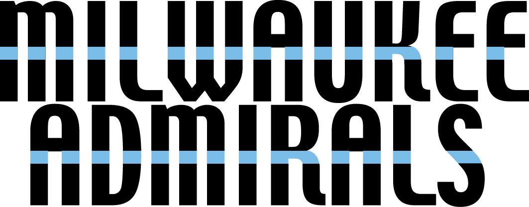 Milwaukee Admirals Logo Wordmark Logo (2006/07-2014/15) -  SportsLogos.Net