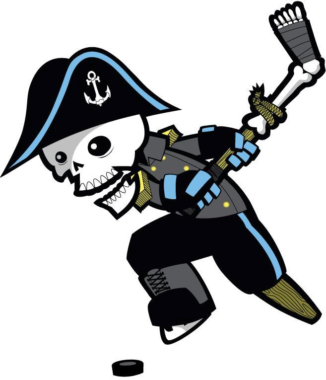 Milwaukee Admirals Logo Alternate Logo (2006/07-2014/15) -  SportsLogos.Net
