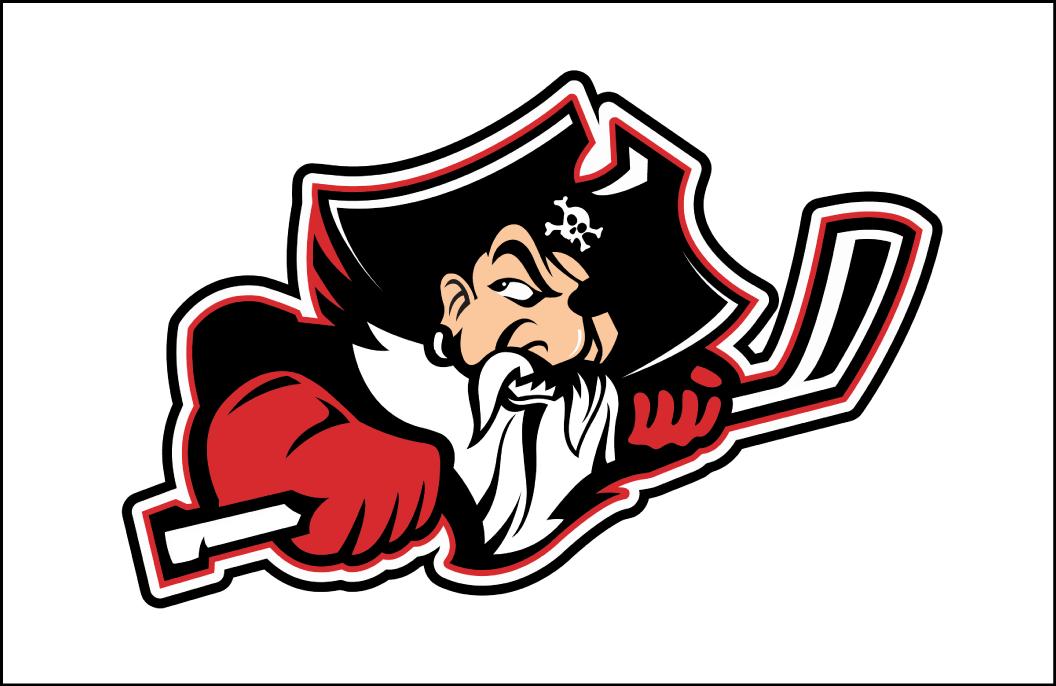 Portland Pirates Logo Jersey Logo (2015/16-Pres) - Home jersey crest SportsLogos.Net