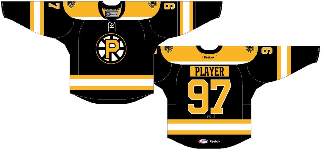 Providence Bruins Uniform Road Uniform (2013/14-2014/15) -  SportsLogos.Net