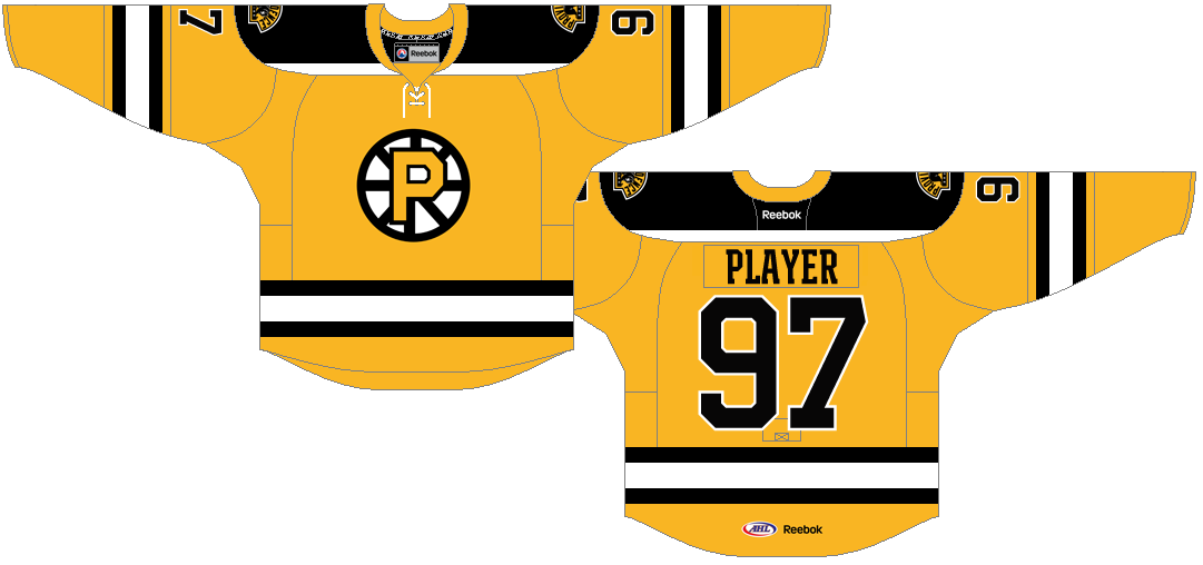 Providence Bruins Uniform Home Uniform (2013/14-Pres) -  SportsLogos.Net