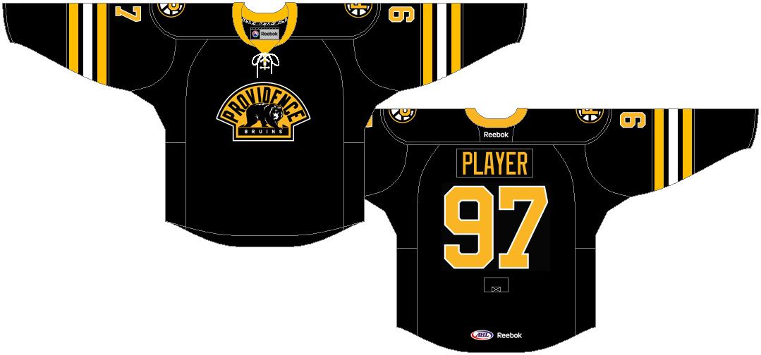 Providence Bruins Uniform Alternate Uniform (2012/13) -  SportsLogos.Net