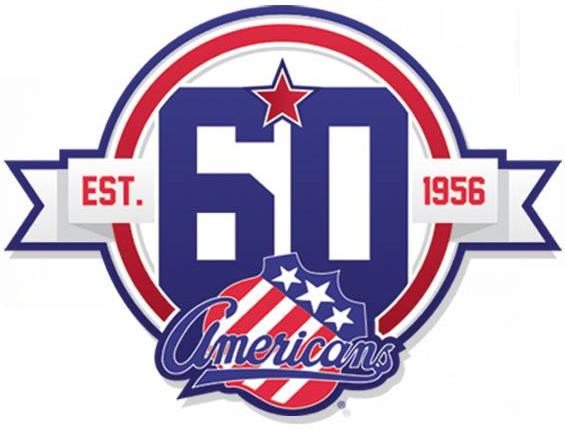 Rochester Americans Logo Anniversary Logo (2015/16) -  SportsLogos.Net